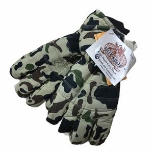 HOT SHOT Brown Camo Hunting Glove w Thinsulate